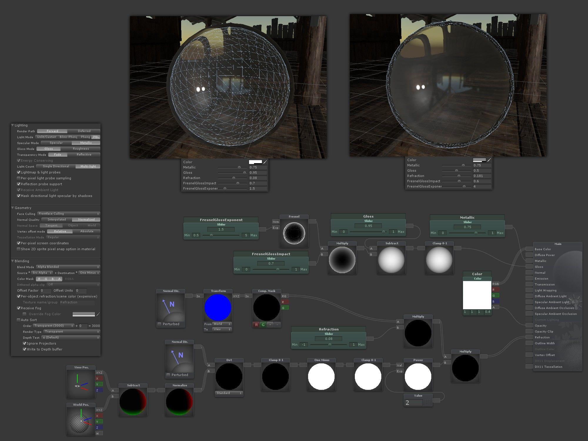 Unity shader forge tutorial