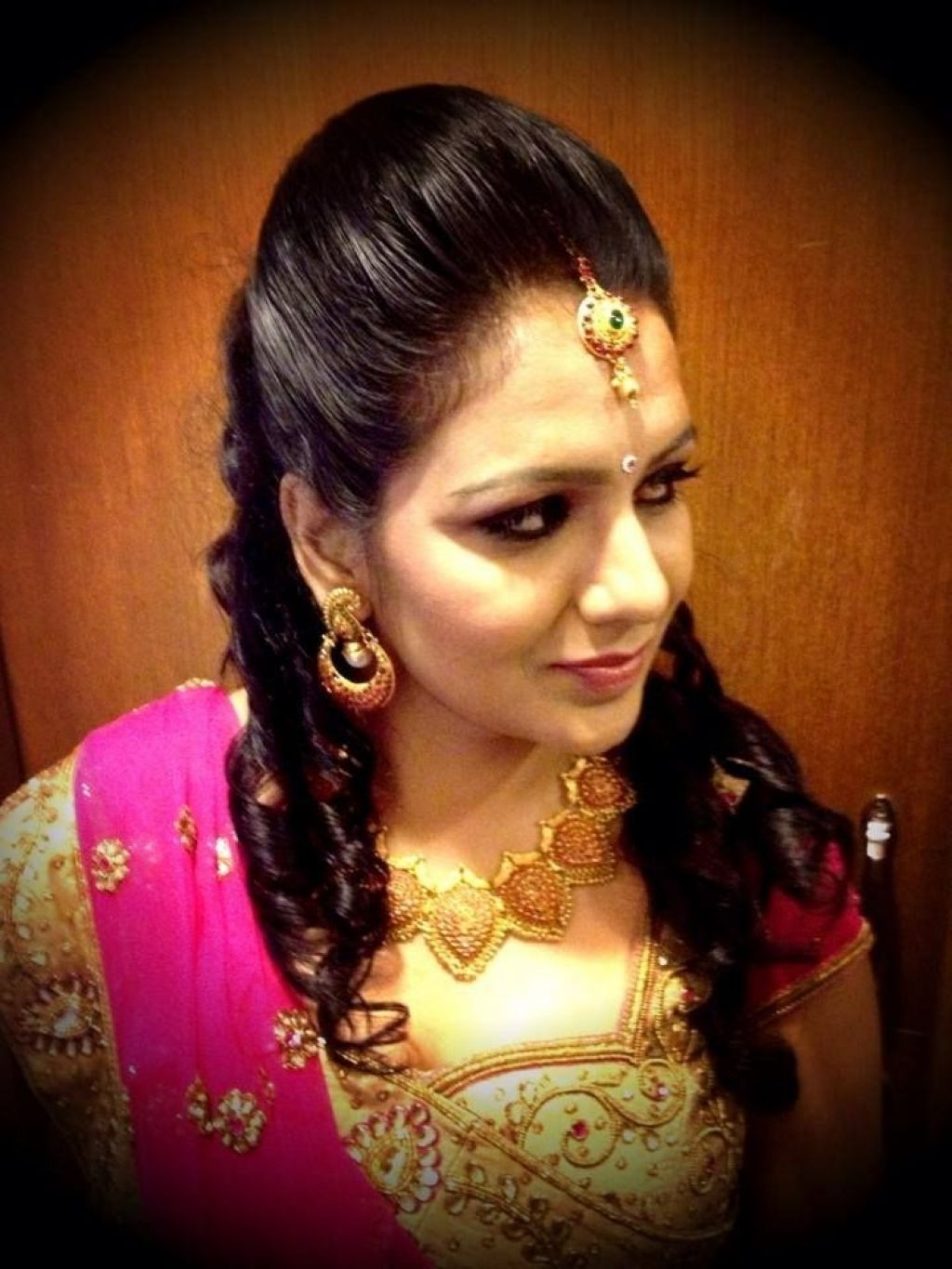south indian bridal reception hairstyle indian bridal hairstyles