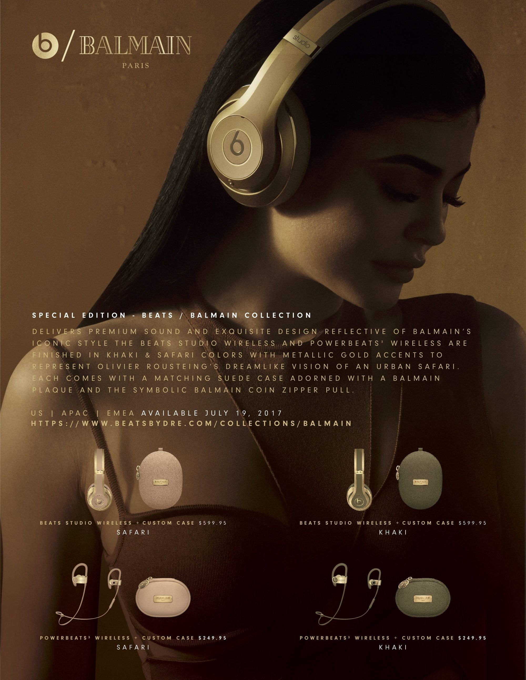 8764aca2eef Beats by Dre & Balmain | Launch a New Collaboration #BeatsbyDre  #BeatsStudio #Balmain #KylieJenner