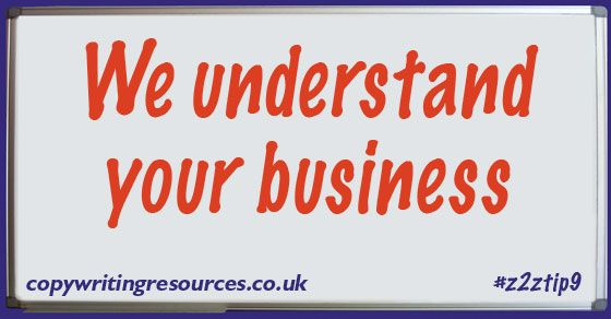 We understand your business - copywritingresources.co.uk