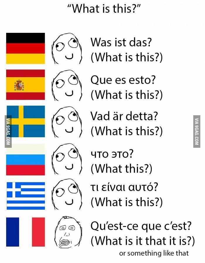 French Language Jokes Memes Quotes French Meme