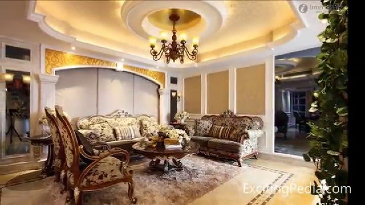 7 Best Ceiling Design Ideas For Living Room Ceiling De