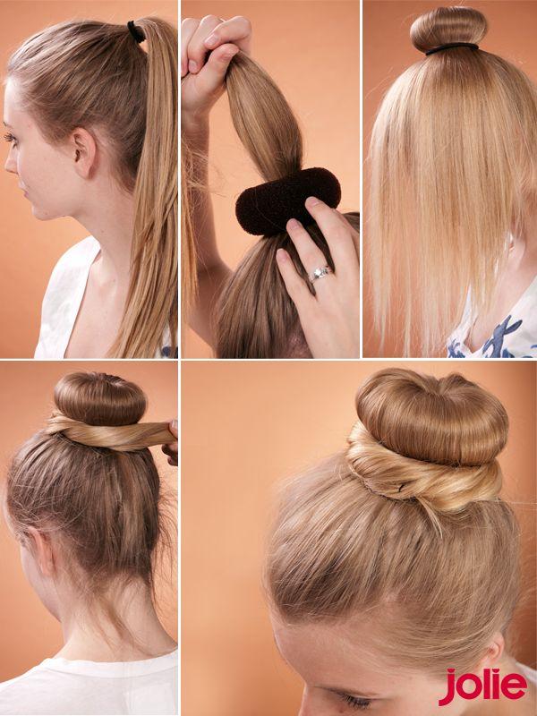 Frisuren Step By Step En 2019 Pelo Pelo Chignon Hair