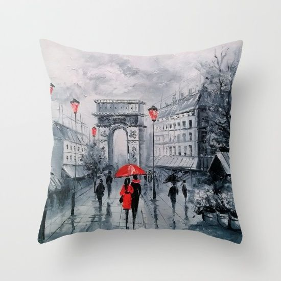 Arc De Triomphe Throw Pillow By Olhadarchuk Pillows Throw Pillows Arc De Triomphe