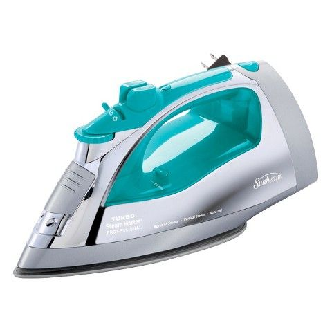 Sunbeam Steamaster Iron With Retractable Cord Teal Best Steam Iron Retractable Cord How To Clean Carpet