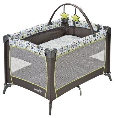 Amazon Com Evenflo Portable Babysuite 100 Playard Covington