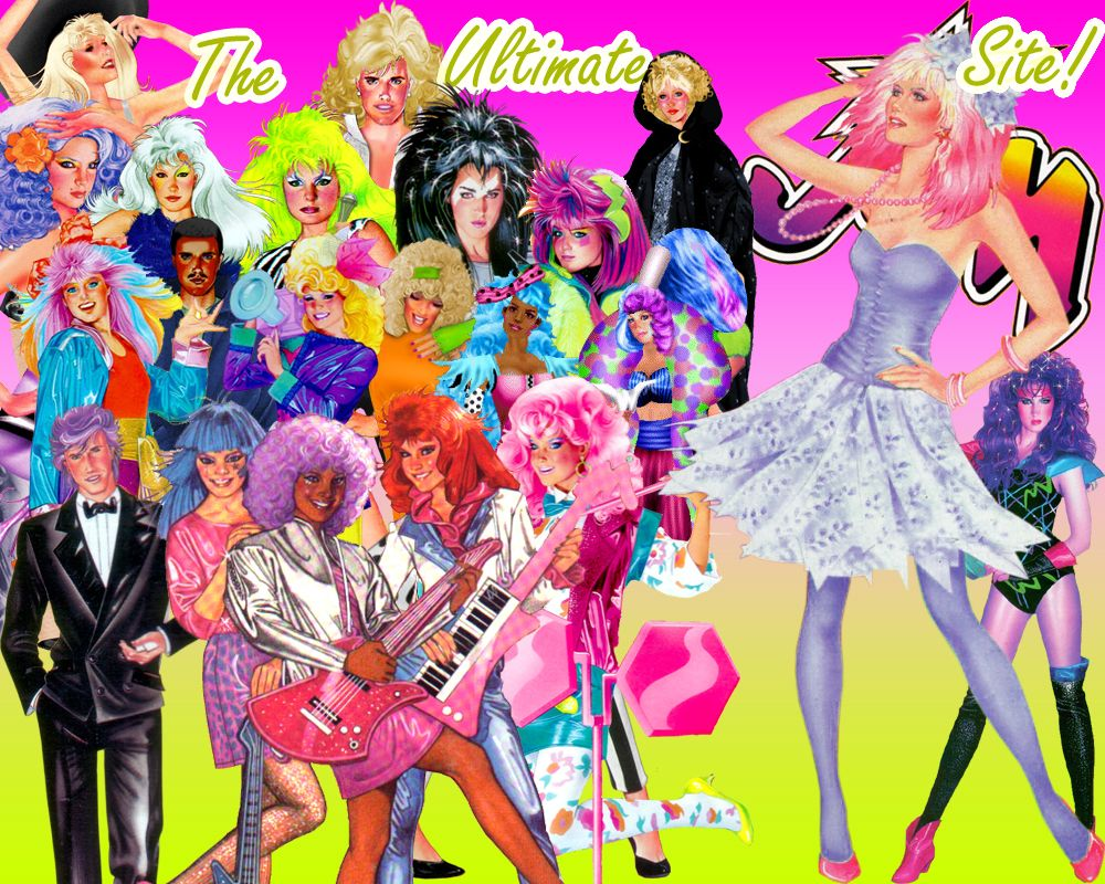 Jem And The Holograms Characters | ... partner jems first holograms concert at the holograms the airplane