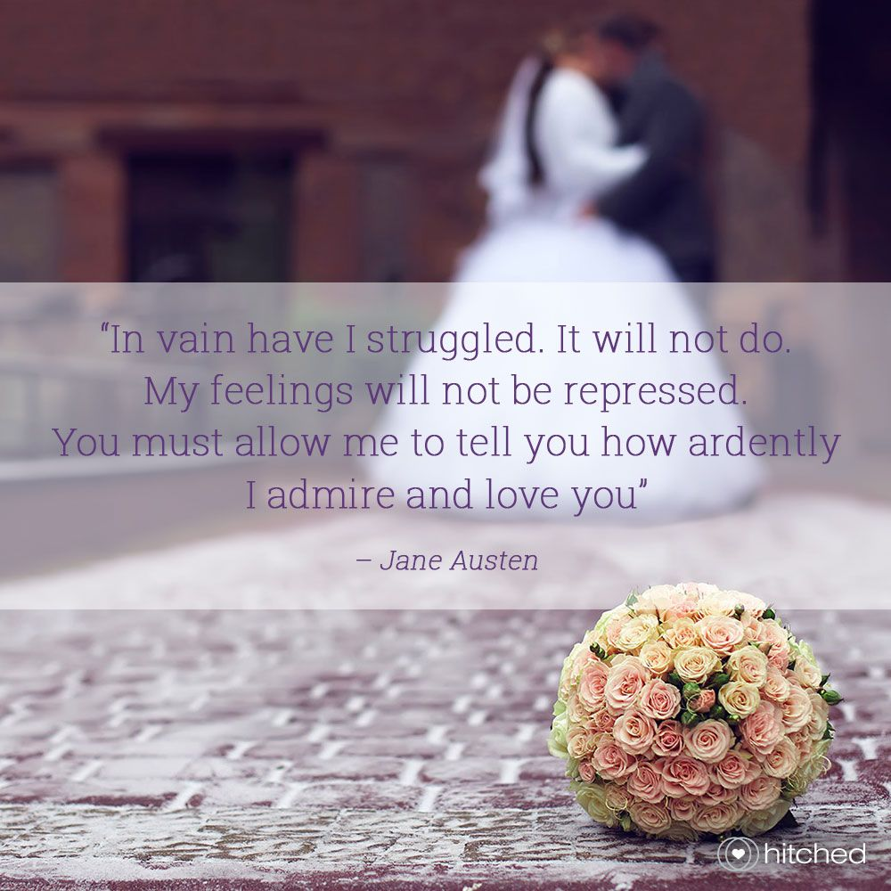 33 of Our Favourite Romantic Quotes for Weddings
