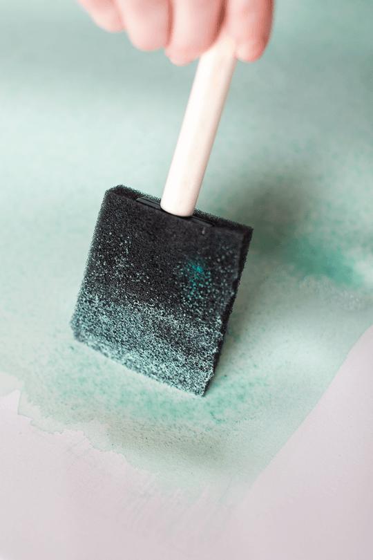 How To Make Diy Watercolor Wall Art Watercolor Wall Art