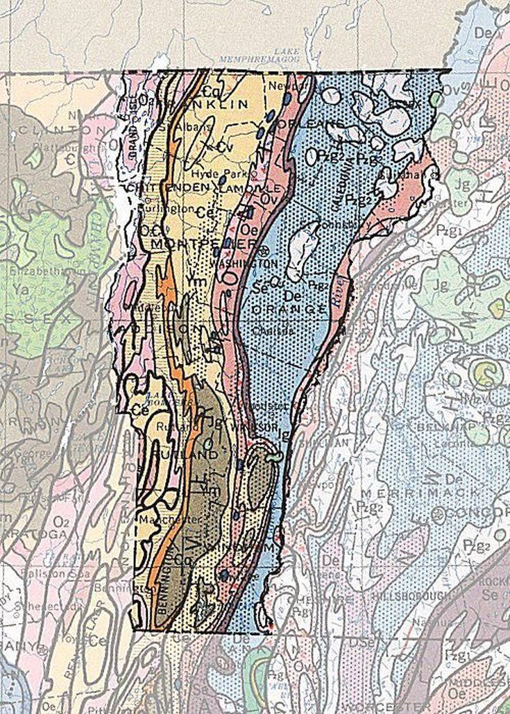 Geologic Maps of the 50 United States | Fifty Nifty | Pinterest ...