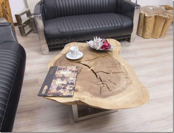 Wohnzimmertisch Baumscheibe ~ Holztisch baumscheibe fabulous eichetisch baumscheibe esstisch