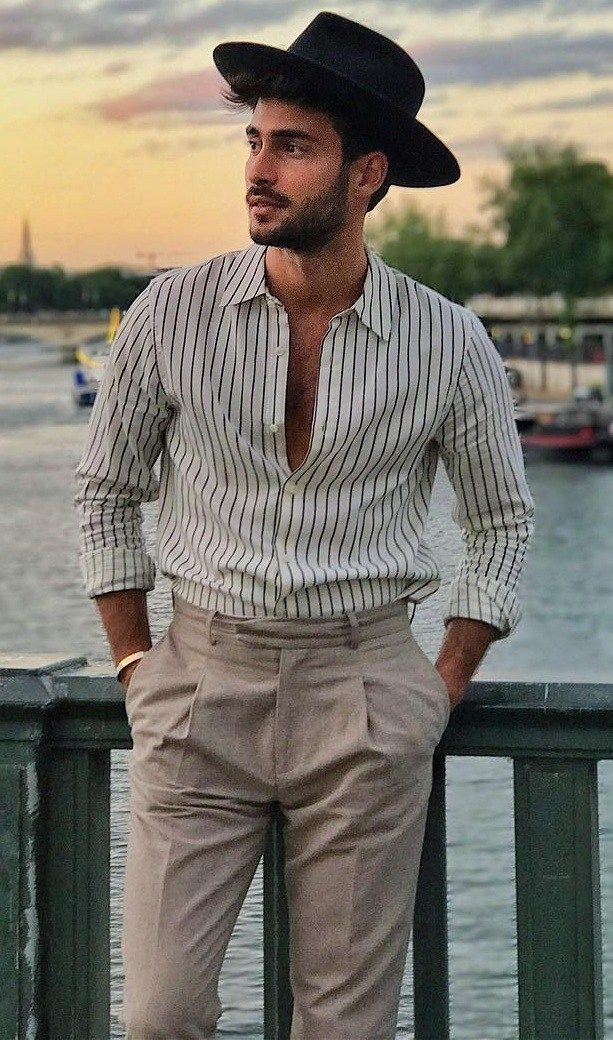 7 Classy Boat Party Outfits is part of Party outfit men - Scored you an invite to the boat party  There is no glamour better than at a boat party  Check out these boat party outfits that will make you the most seductive man on the boat