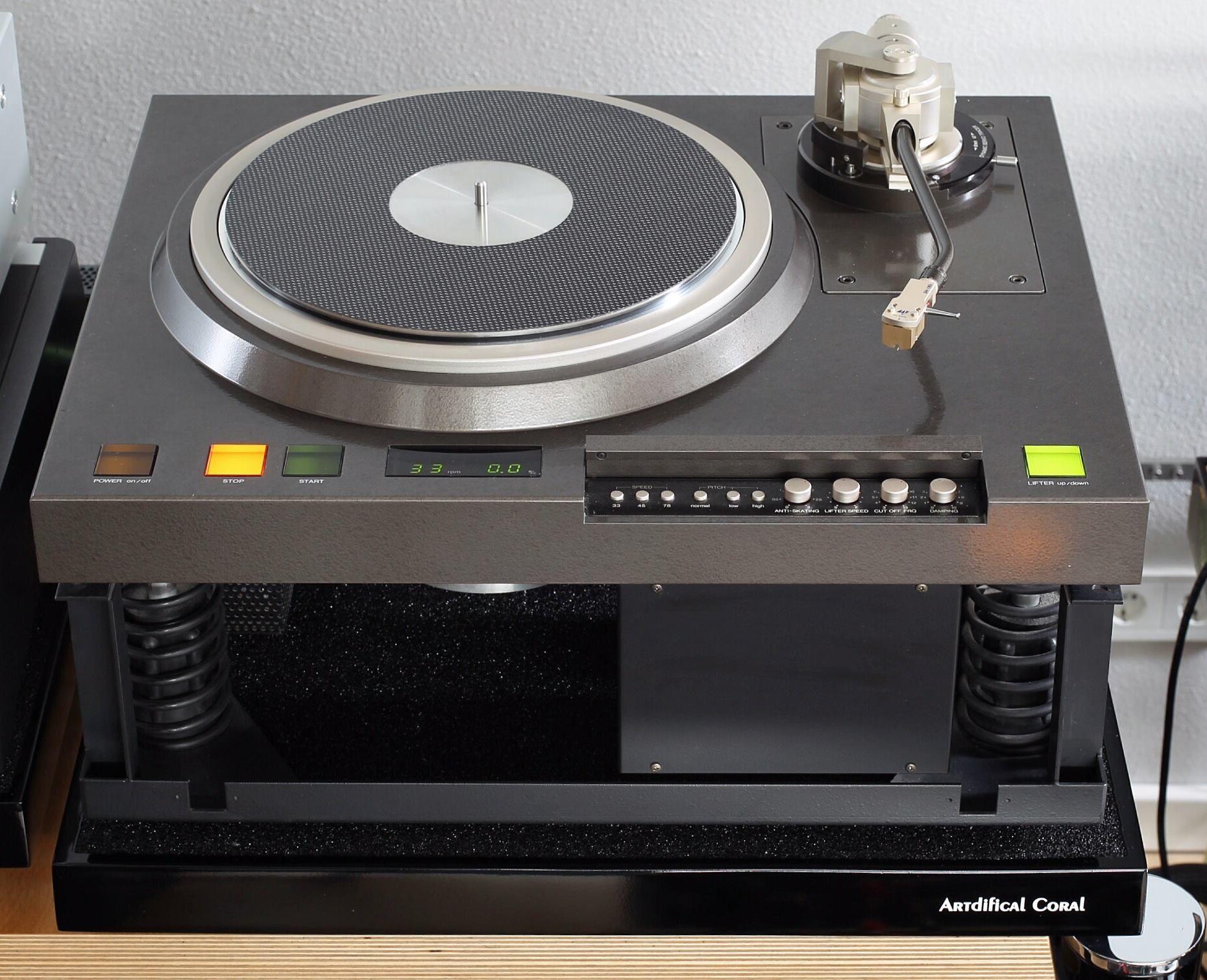 denon vintage turntable