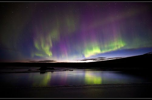 Aura Borealis Northern Lights