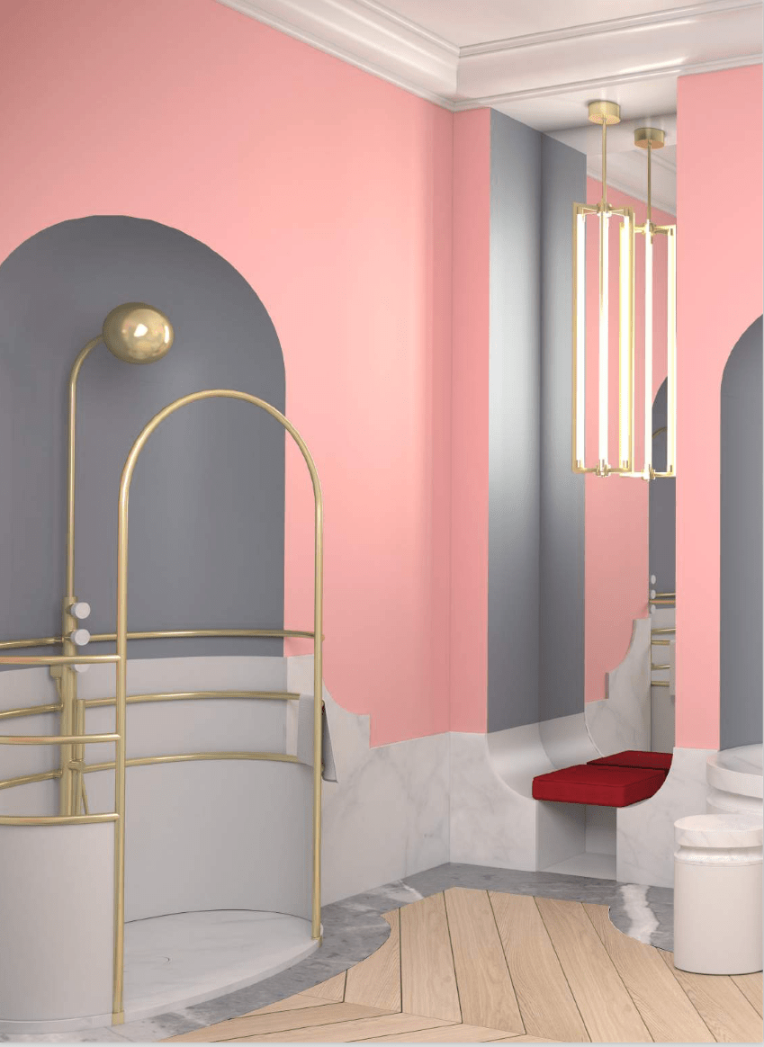 Jacob Delafon X Alexis Mabille Maison Art Deco Decoration Interieure Et Jacob Delafon