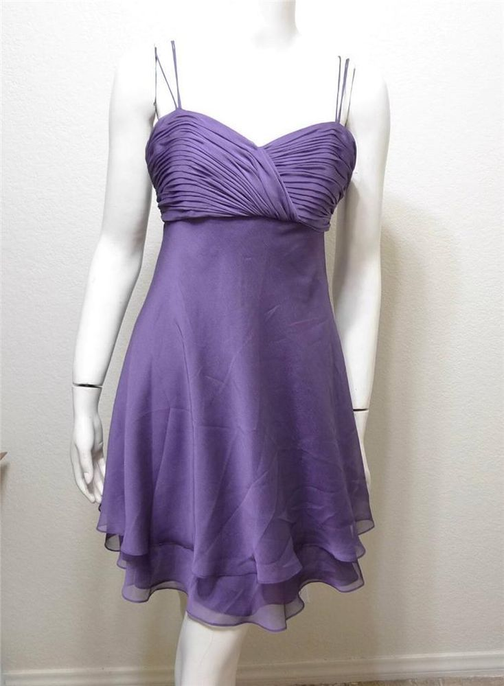 WOMEN KAY UNGER Evening pleated dress size 6