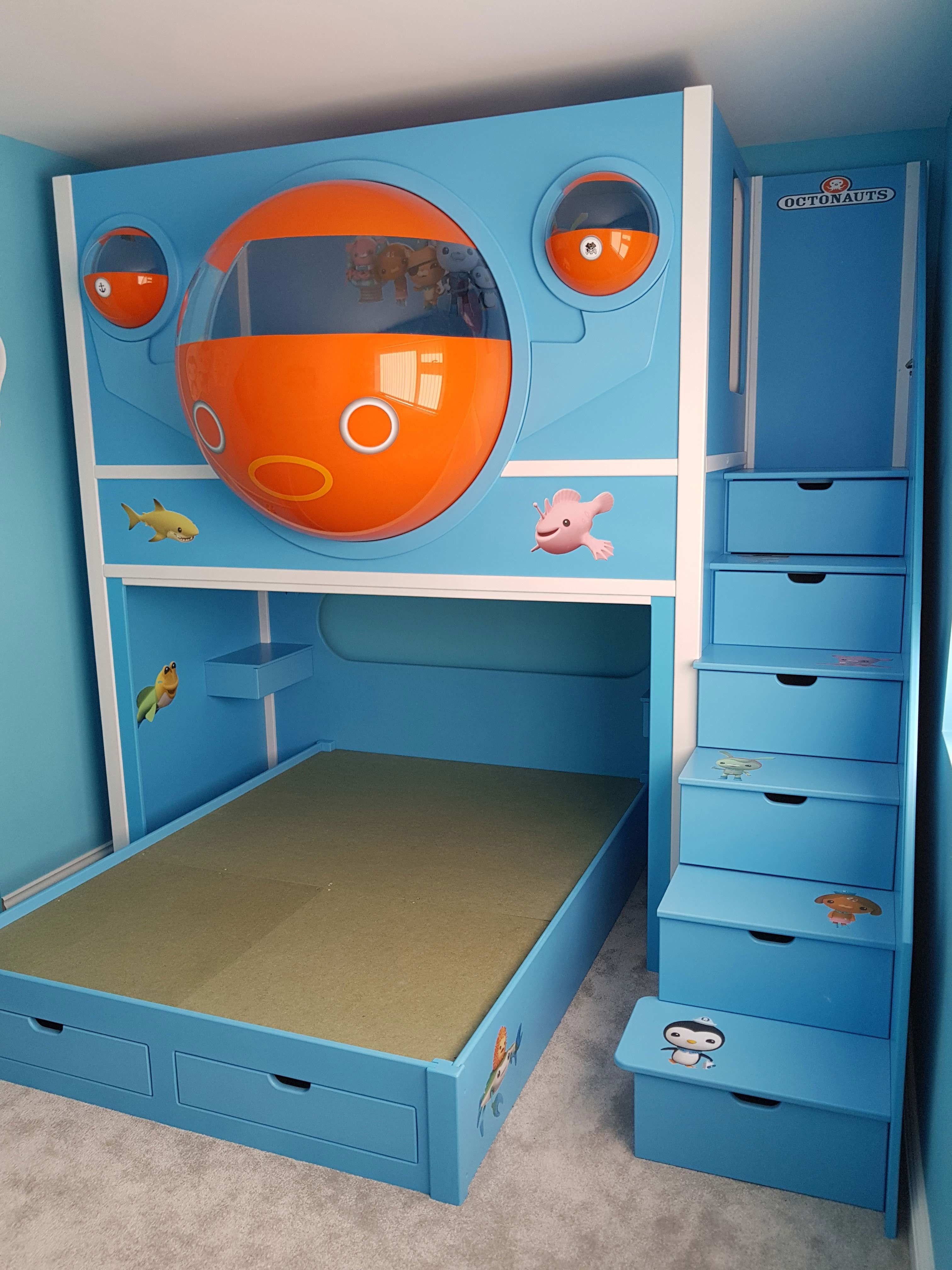 Octonauts Pod Children S Themed Twin Bed Designed And