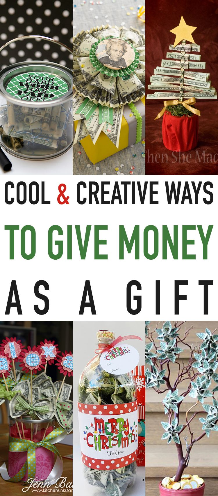Creative Ways To Give Money As A Christmas Gift