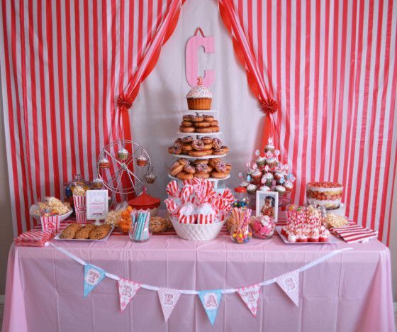 and Parties We Love September 2013 Week 2 Carnival inspired 1st birthday party.Carnival inspired 1st birthday party.