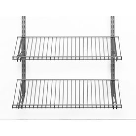 Rubbermaid Homefree Series 4 Ft Adjustable Mount Wire Shelving