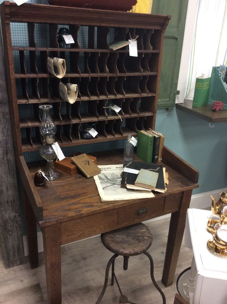 Early 1900's Post Office Desk - Early 1900's Post Office Desk Home Decorating And Other Ideas