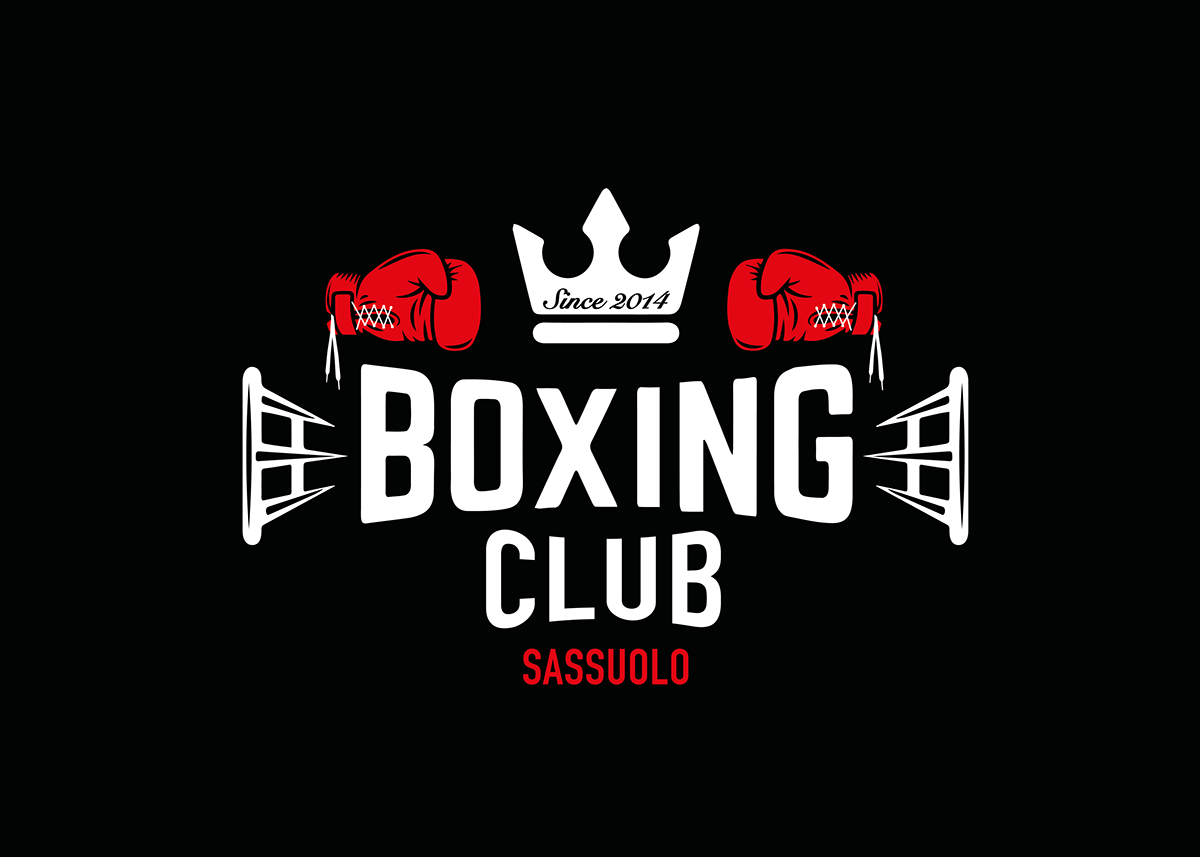Logo Boxing Club Sassuolo on Behance Logo Academia 095a6e3c360