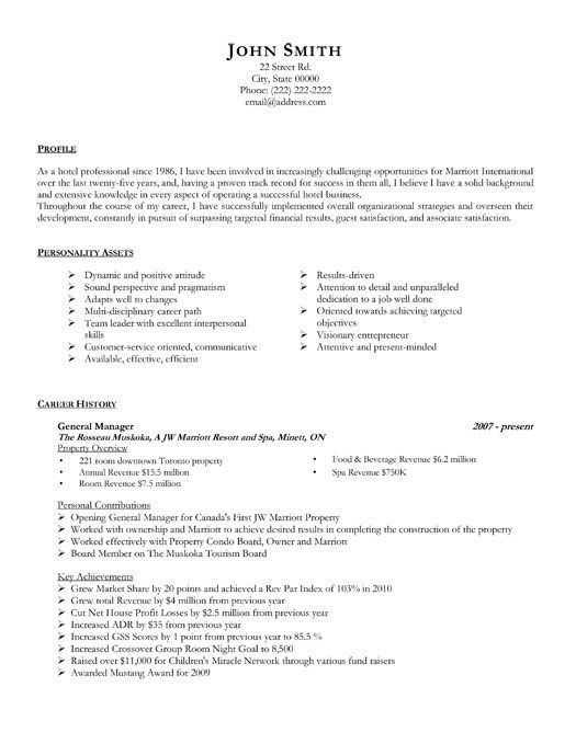 General Manager resume template Want it? Download it Resume - experienced labourer trade assistant resume sample