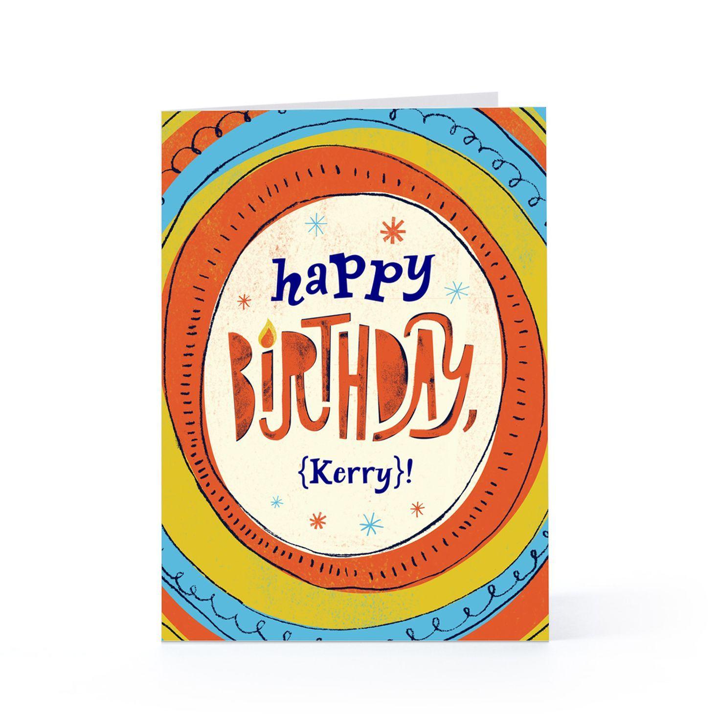 Birthday circles birthday cards cards and invitations