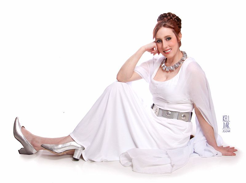 My Ceremonial Princess Leia costume (second version) from March 2007 ...