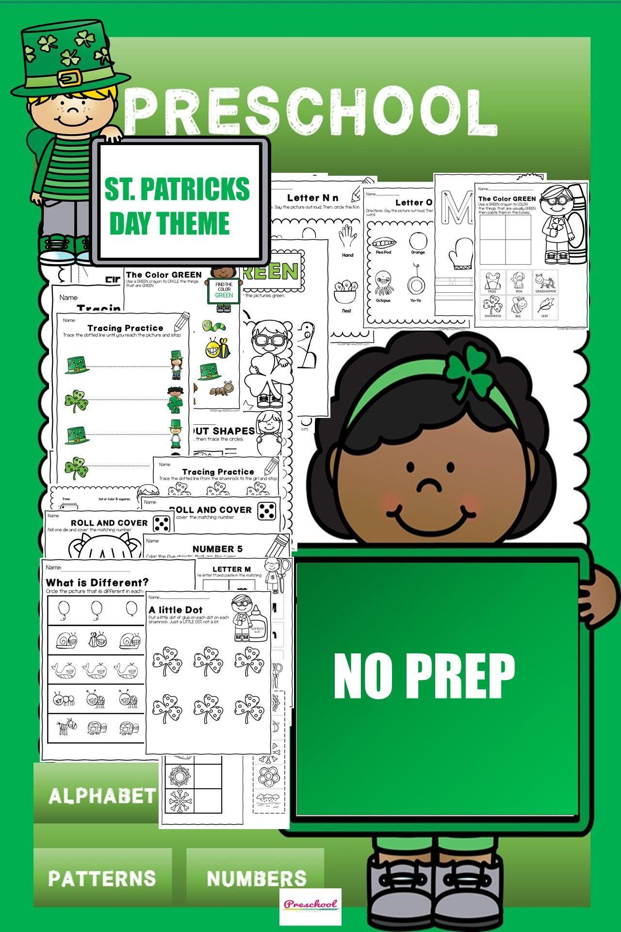 Preschool March Packet In