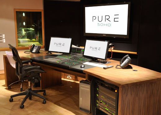 Aka design custom post production solutions recording - Meuble de studio d enregistrement ...