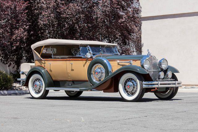 1931 Packard 840 Deluxe Eight Dual Cowl Sport Phaeton Packard