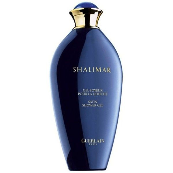 Guerlain Shalimar Shower Gel ($57) ❤ liked on Polyvore featuring beauty products, perfume, beauty, blue, makeup, fillers and no color