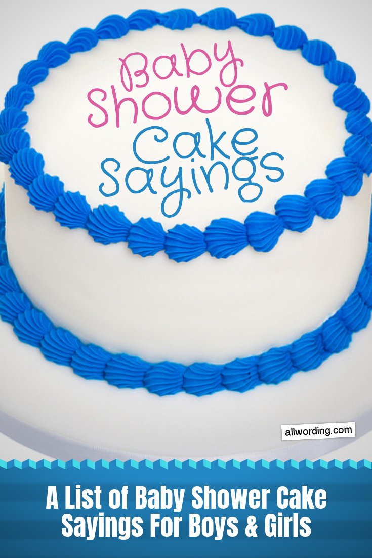 Birthday Cake Quotes For Baby Girl
