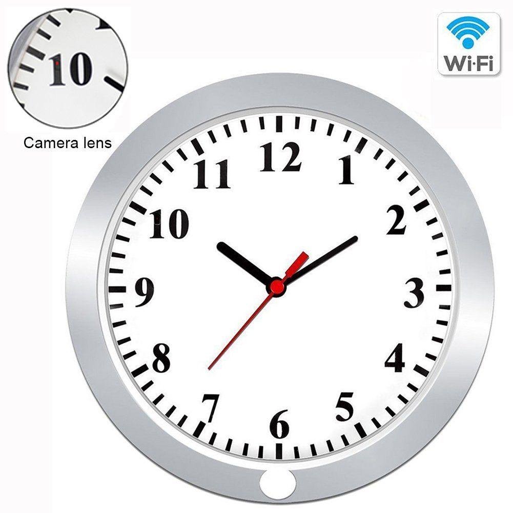 Wifi wall clock cameracamakt 1080p hidden pinhole camera wireless wifi wall clock cameracamakt 1080p hidden pinhole camera wireless spy camera security surveillance amipublicfo Images
