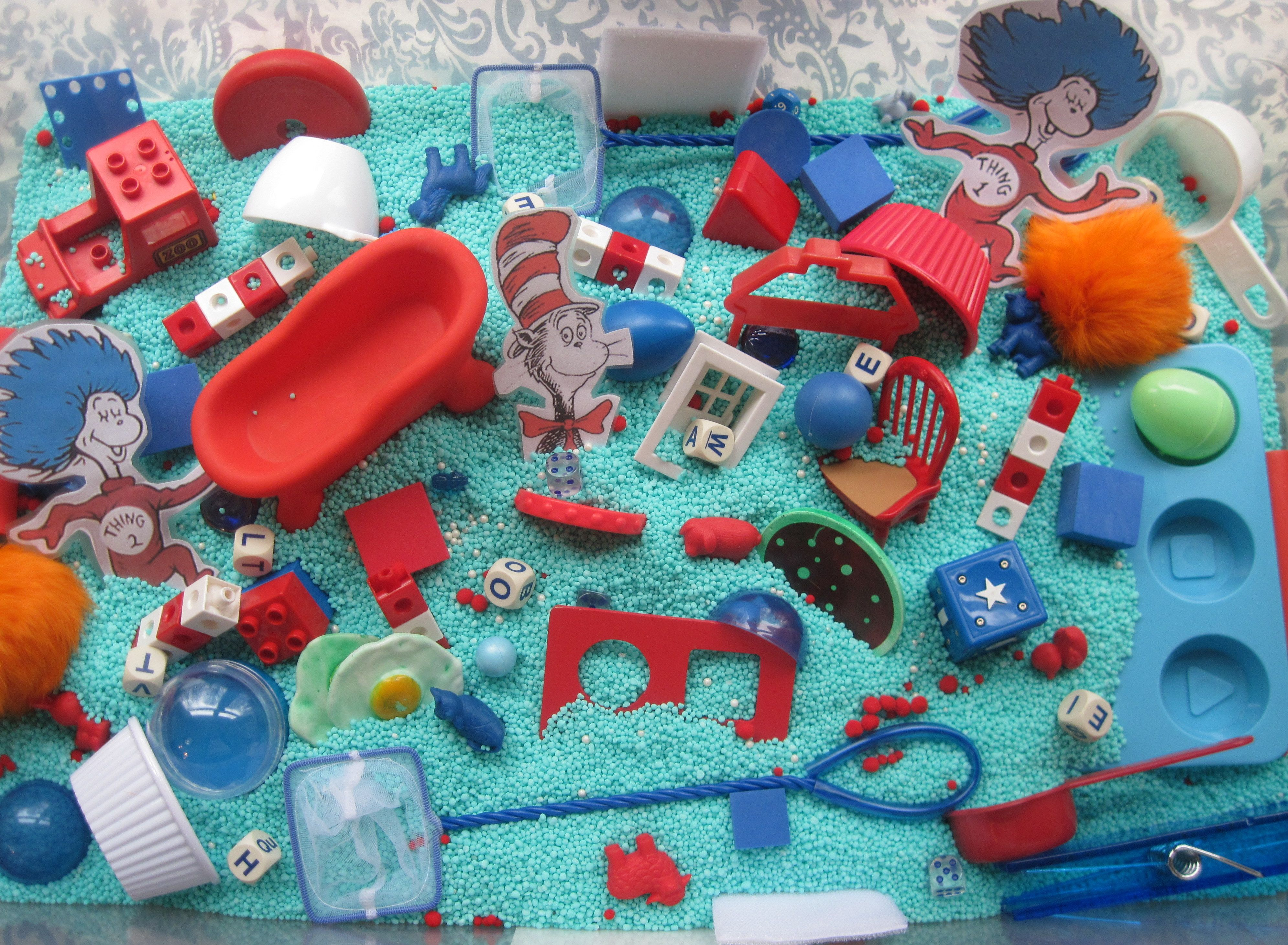 Our Dr Suess Inspired Sensory Box Mptionkids