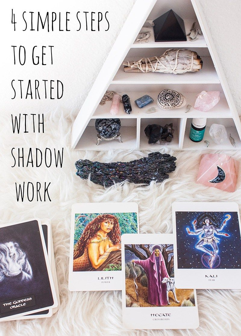 4 Simple Steps to Get Started with Shadow Work Book of