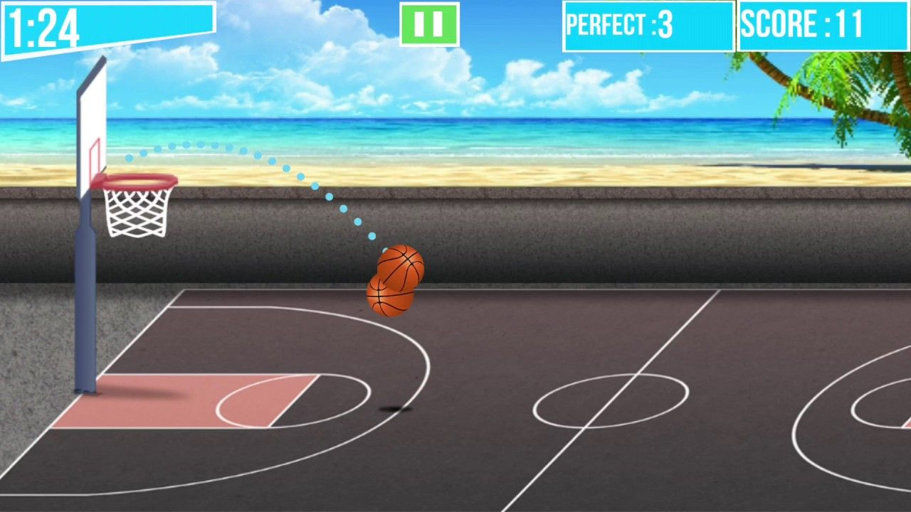 Xtreme Basketball Maniac by BringItOnGames Live on iOS and
