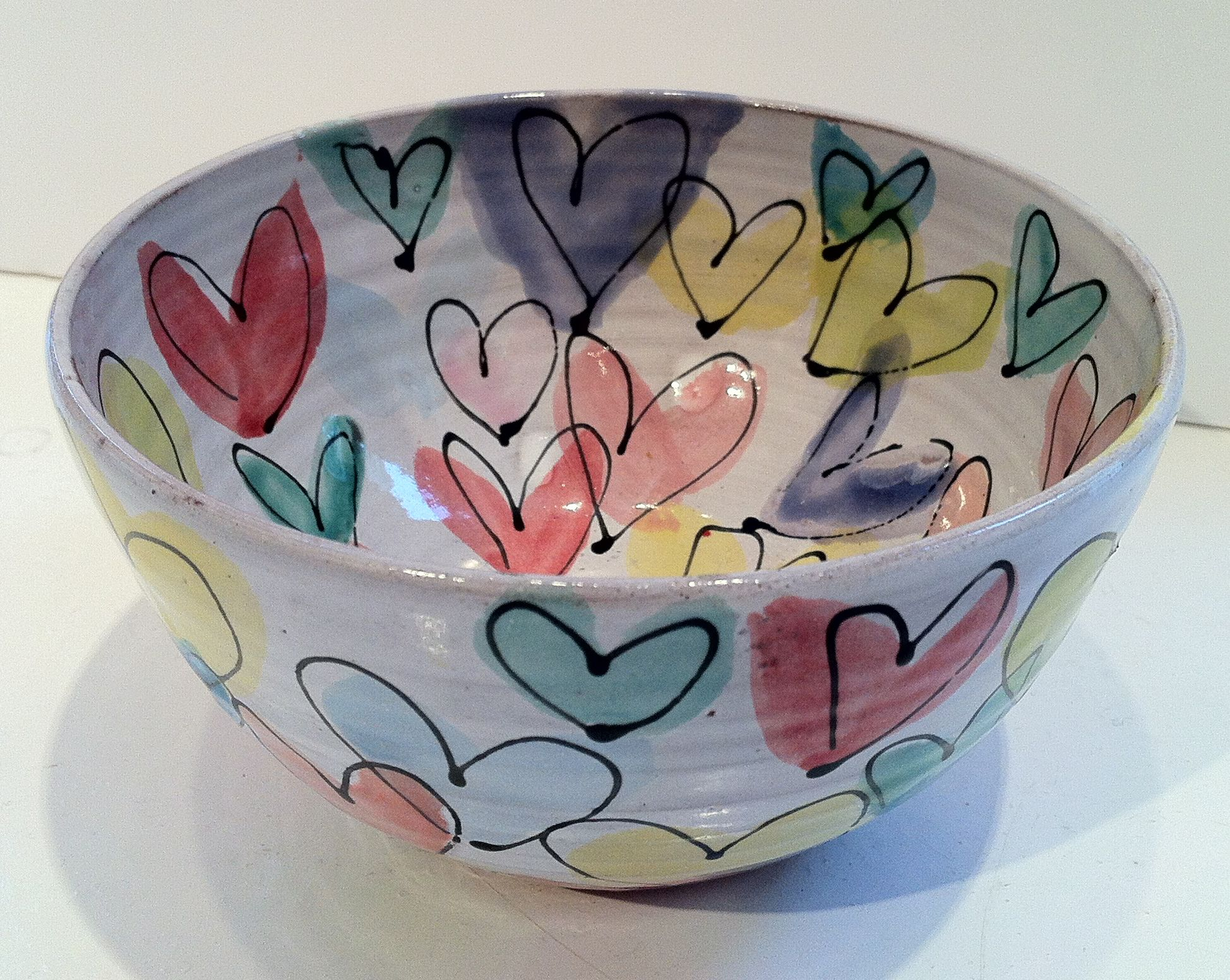 'Small Heart Bowl' Tina Davies