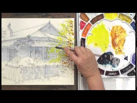 Watercolor Without Boundaries Part 1 Streaming Video Watercolor