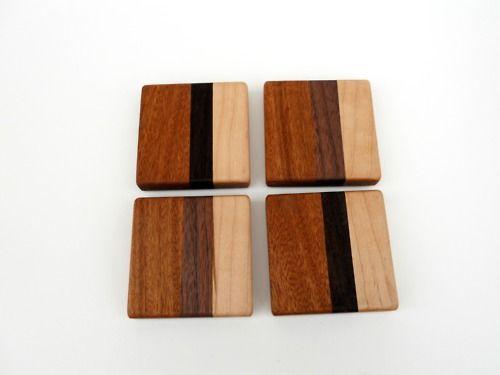 Simple Laminated Wood Coasters Nice