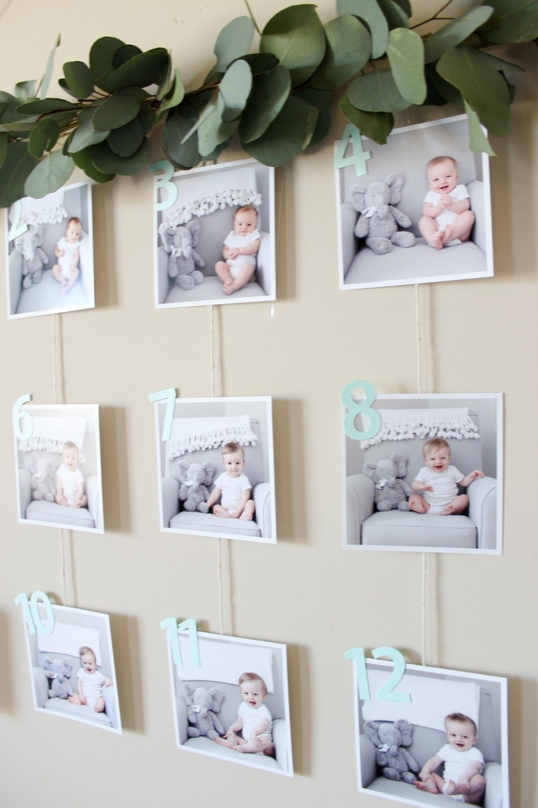 First Birthday Party :: Modern Woodland Style #firstbirthdaygirl