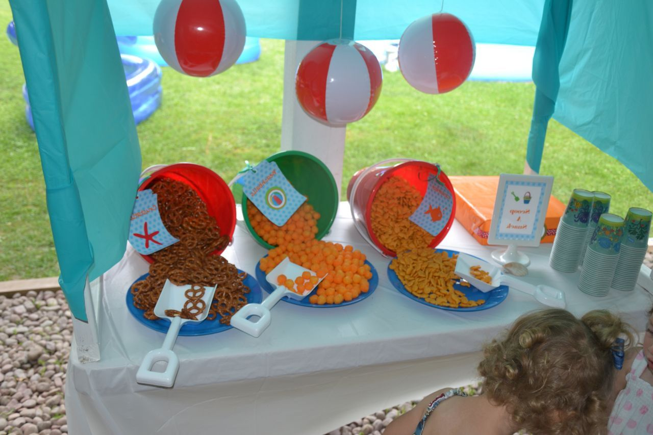 diy beach theme party decorations cute idea for table decorations