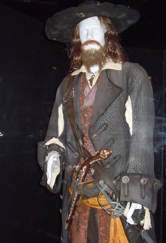 Pirates of the Caribbean Captain Hector Barbossa Jacket Coat Cosplay Costume