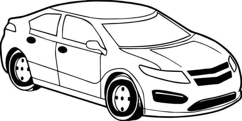 Coloring Pages Spor Arabalar Spor Araba