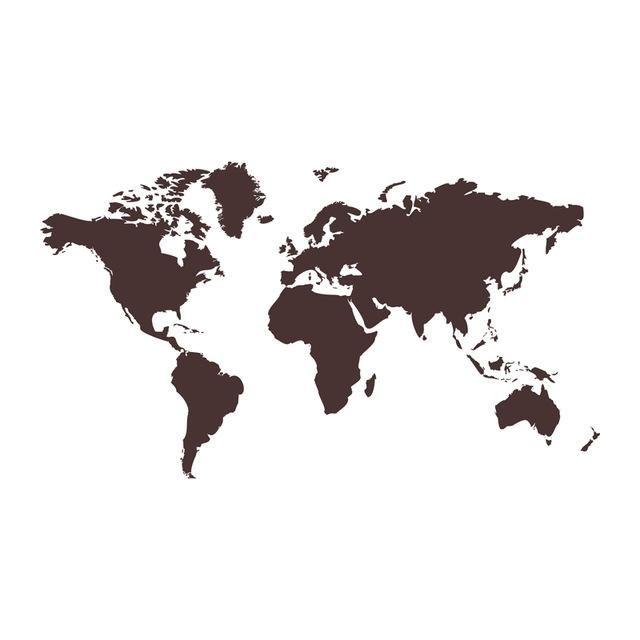 Dctop creative home decor world map atlas wall sticker black printed dctop creative home decor world map atlas wall sticker black printed bedroom decorative removable adhesive vinyl gumiabroncs Choice Image