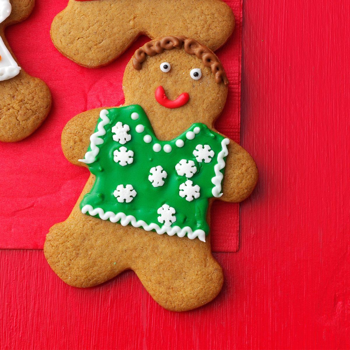 Gingerbread People Recipe Gingerbread cookies