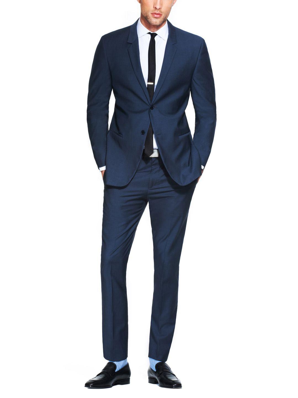 d8ec0f376cf95 Spring/Summer wedding suit // Calvin Klein Slim Fit Suit, menswear style