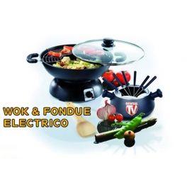 Cocina Con Wok Electrico Fondue Profesional Juego De Sartenes Para Cocinar Anunciadas En Tv Www Oficialtv Com Teletienda Internacional Wok