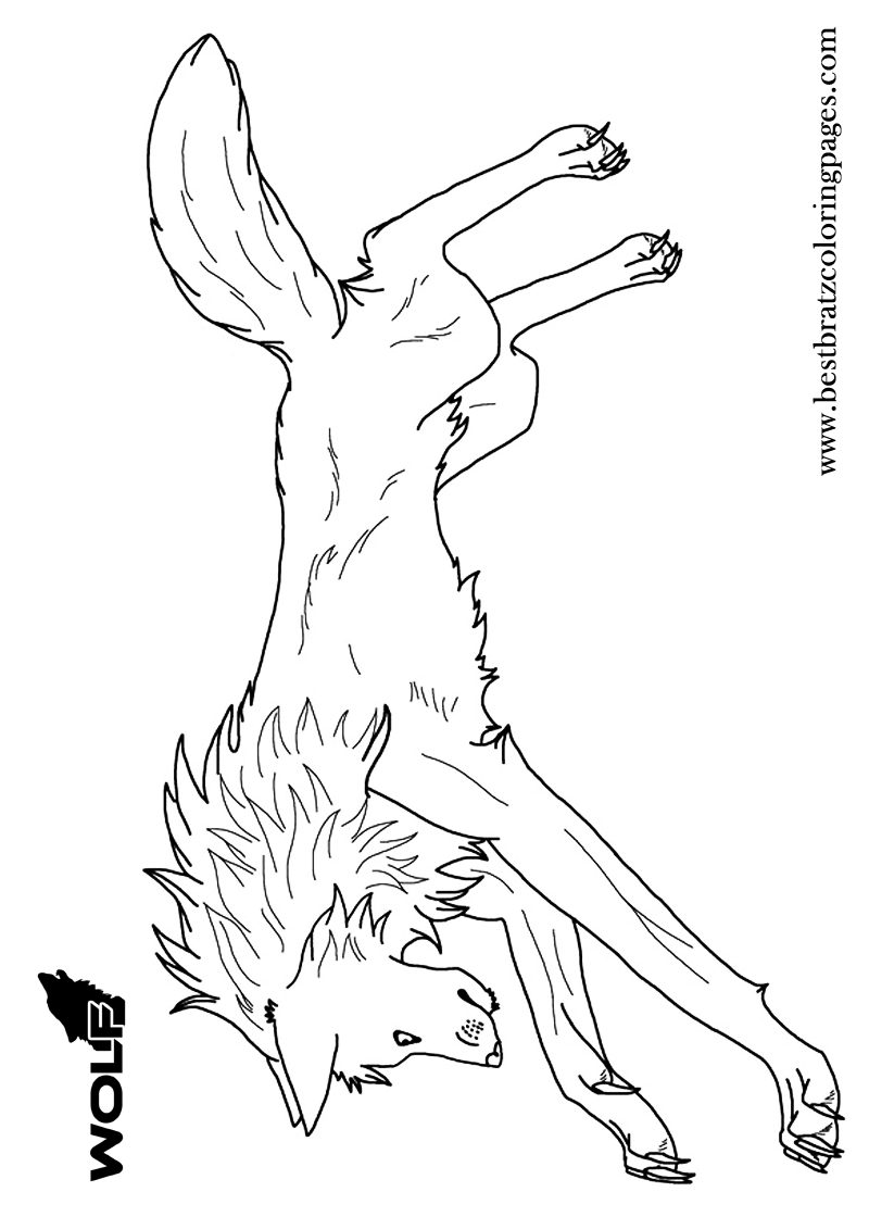 Coloring pages animal jam - Free Printable Wolf Coloring Pages For Kids Animal Jamcoloring